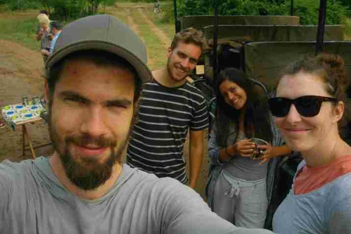 Safari mit Amy und Manuel